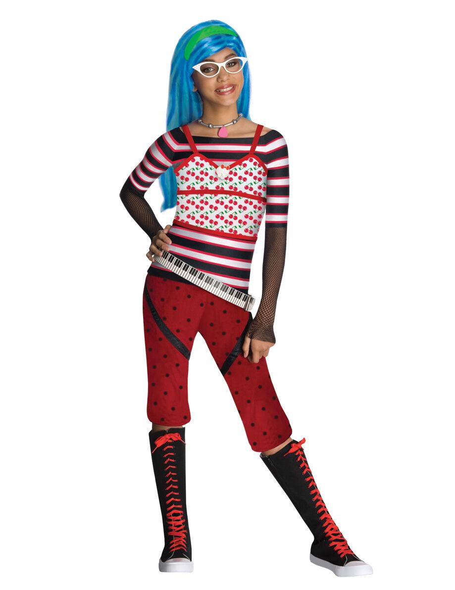Vegaoo.es Disfraz Ghoulia Yelps Monster High fille - 7-9 años (122/134)