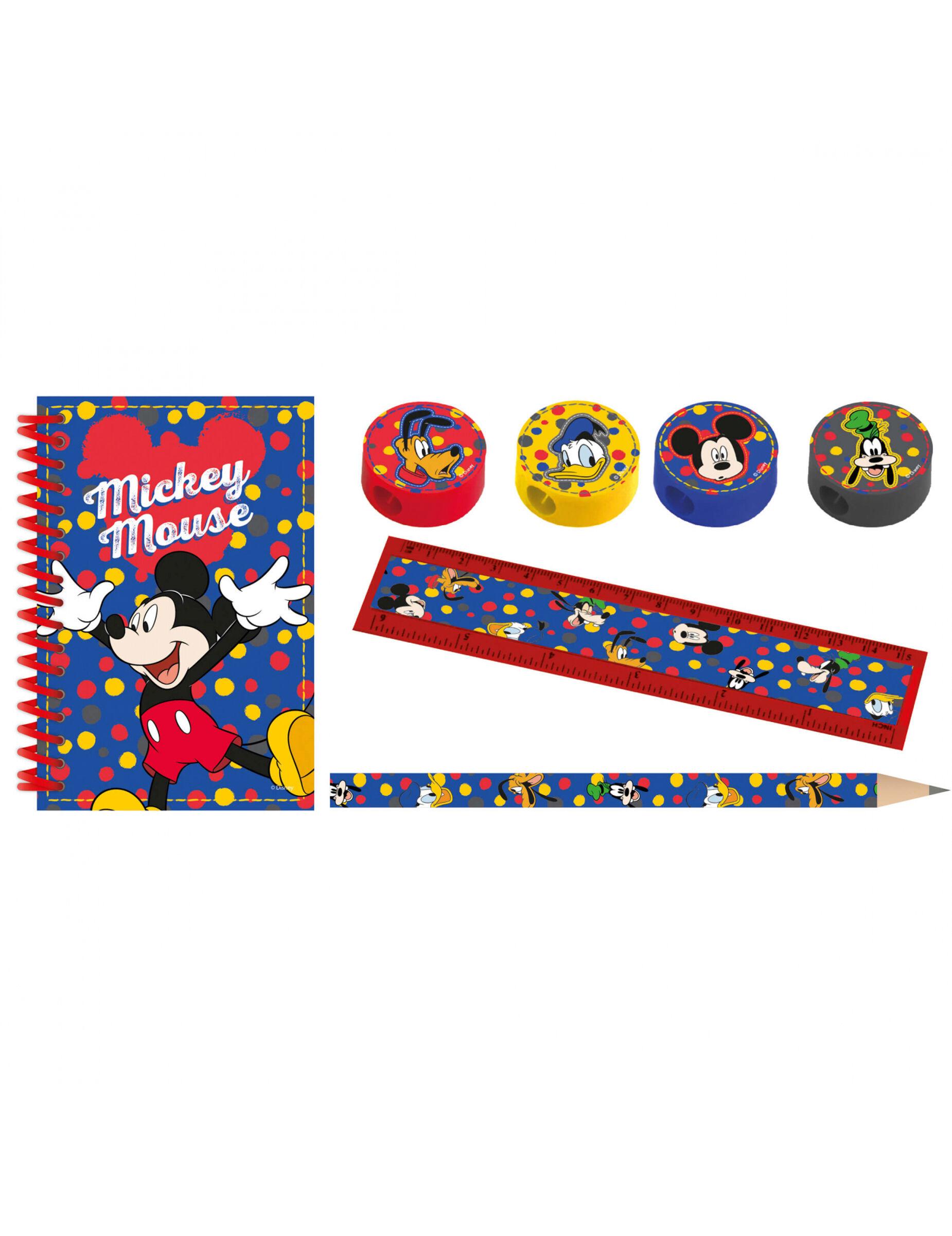 Vegaoo.es Kit de papelería Mickey Mouse