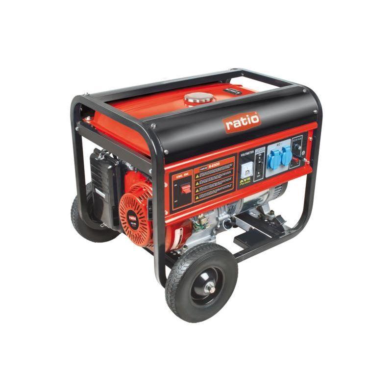 RATIO Generador electrógeno de gasolina RG-6500 - talla