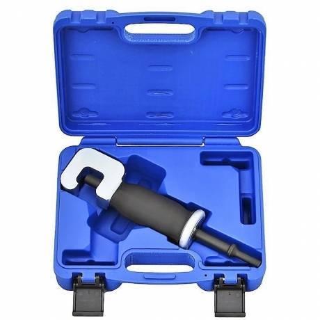 Adaptador para extraer tuercas y tornillos oxidados con martillo