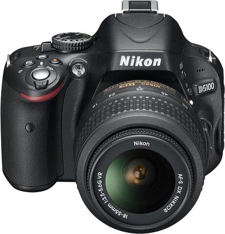 Nikon D5100 16.2M + 18-55mm VR, B