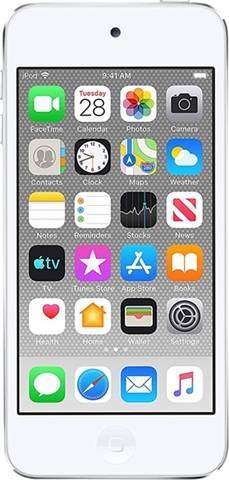 Apple iPod Touch 7th Gen (A2178) 128GB - Plata, A