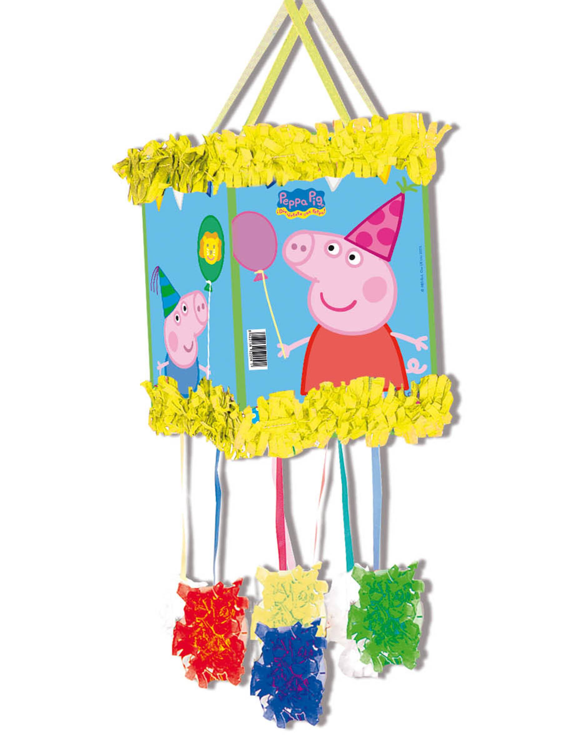 Vegaoo.es Piñata Peppa Pig 20 x 30 cm