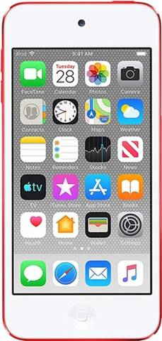 Apple iPod Touch 7th Gen (A2178) 256GB - (Product) Red, A