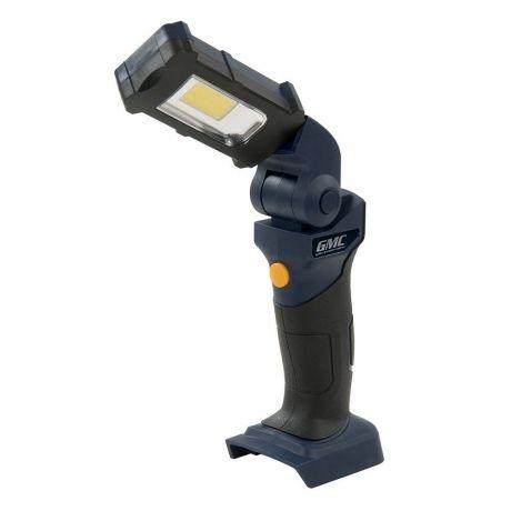 Lámpara portátil cob led gmc 18v. (sin batería ni cargador)