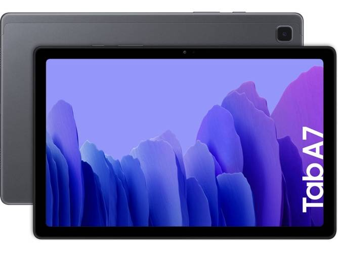Samsung Tablet SAMSUNG Galaxy Tab A7 (10.4   - 32 GB - 3 GB RAM - Wi-Fi+4G - Gris)