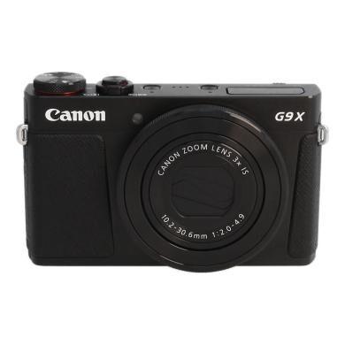 Canon PowerShot G9 X negro - Reacondicionado: muy bueno   30 meses de garantía   Envío gratuito