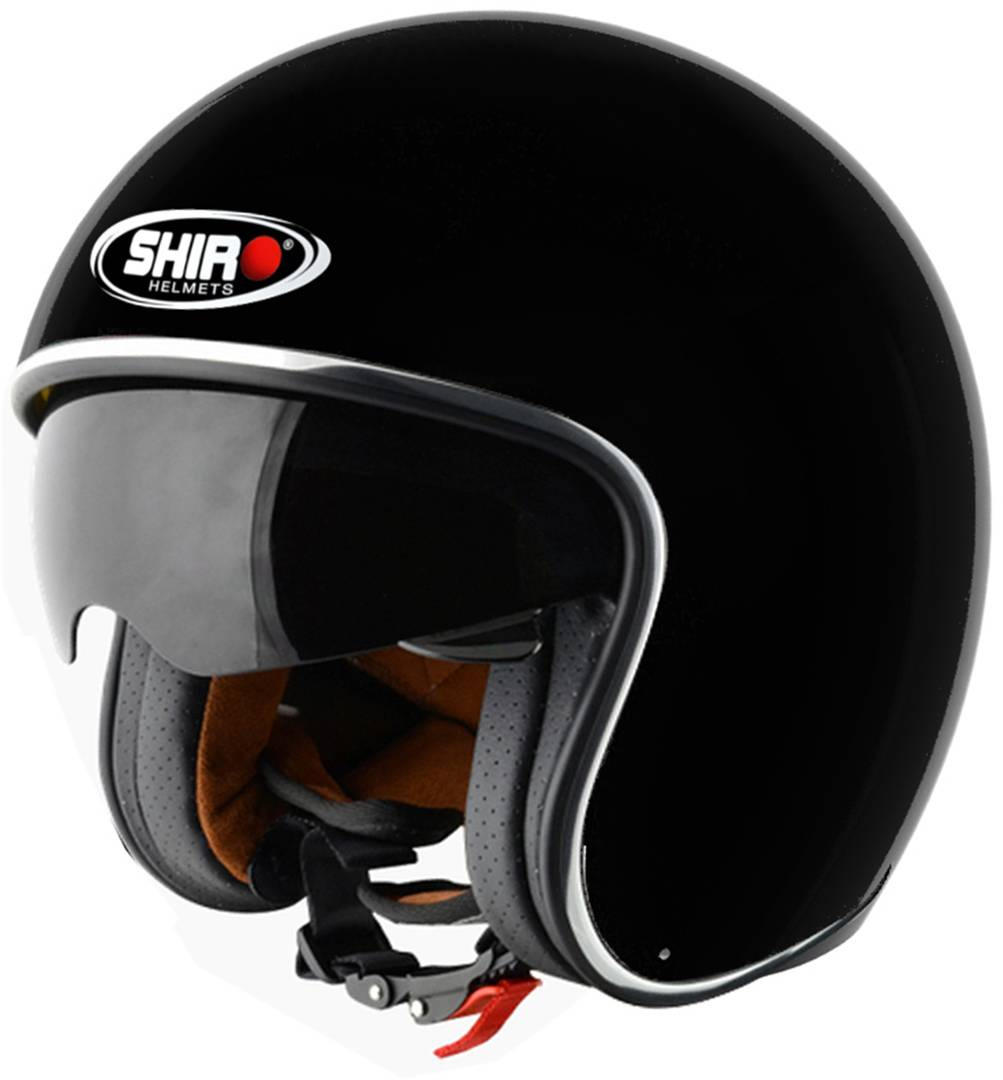 Shiro SH-235 Casco Negro Mate XS (53/54)