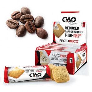 CiaoCarb Pack de 10 Galletas  Protobisco Fase 1 Café