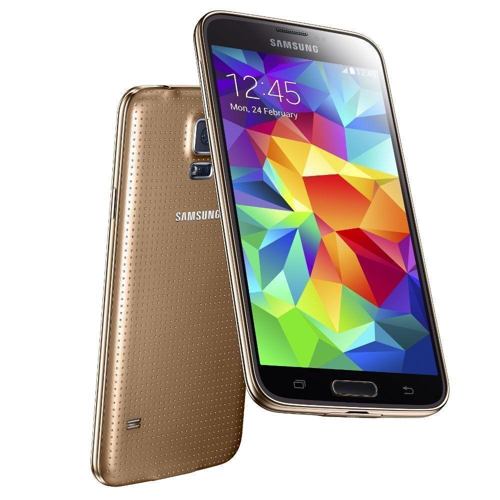 Samsung Galaxy S5 16 GB oro libre