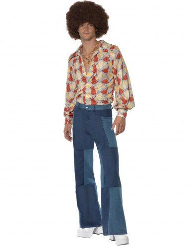 Disfraz disco años 70 hombre M