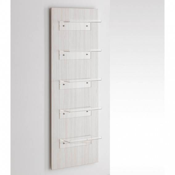 Professional HairCare Mueble Expositor de Pared Expo Wood White