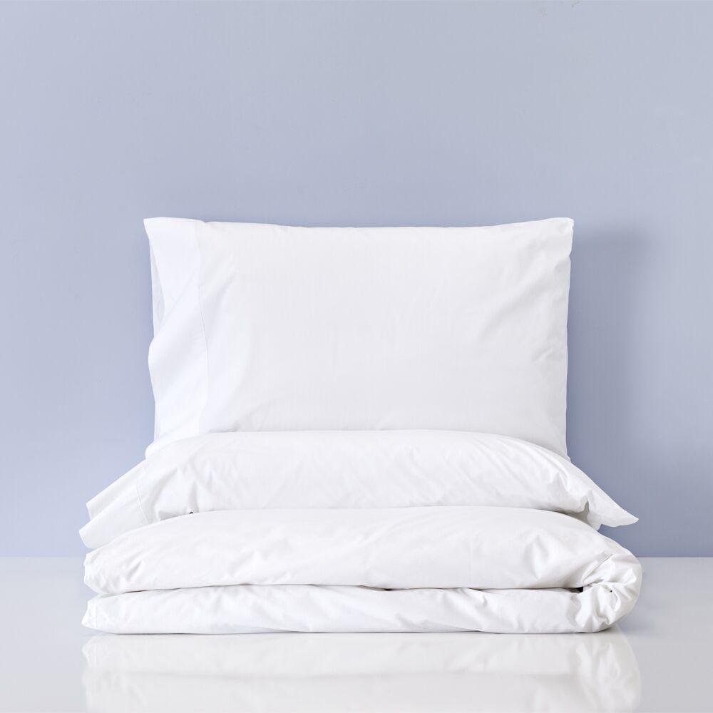 Basics Set de funda nórdica percal algodón cama de 150 y 160 Cadaqués