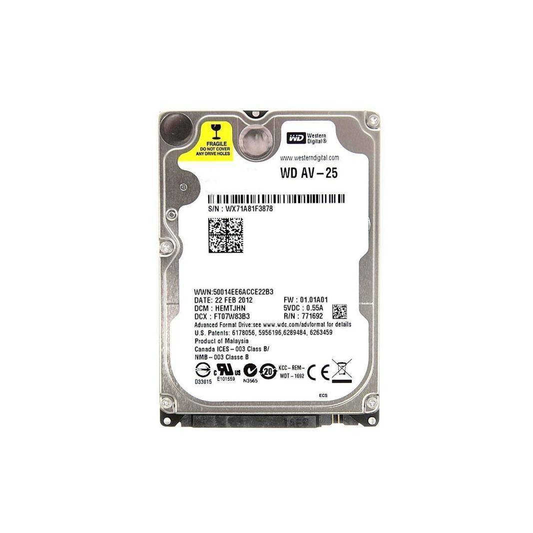 Western Digital Disco duro interno 2.5 320 GB SATA 1.5 Western Digital WD3200BUCT