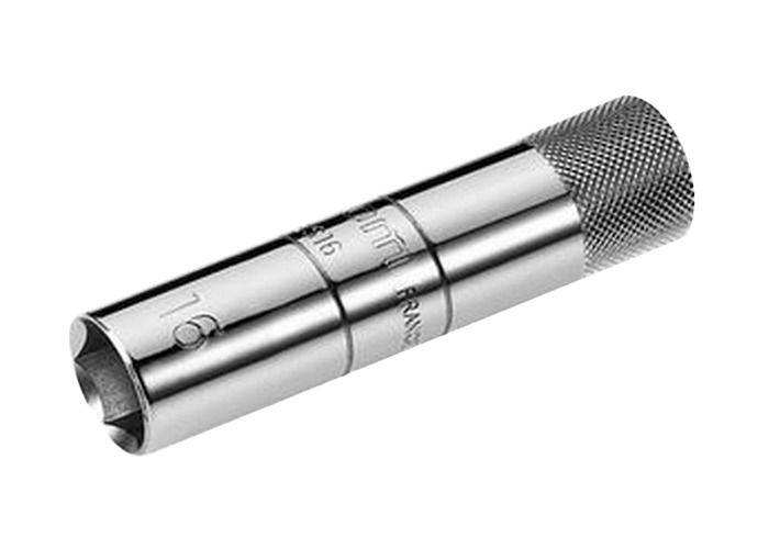 SAM Vaso 3/8 para bujías de gasolina con sistema de retención SAM BD-16-JL