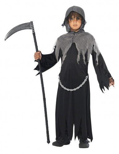 Disfraz de muerte para niño 7-9 años (130/143 cm)
