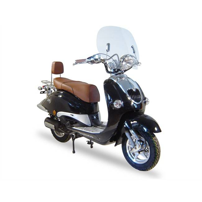 Scooter Sumco Luna 125 Cc Negro
