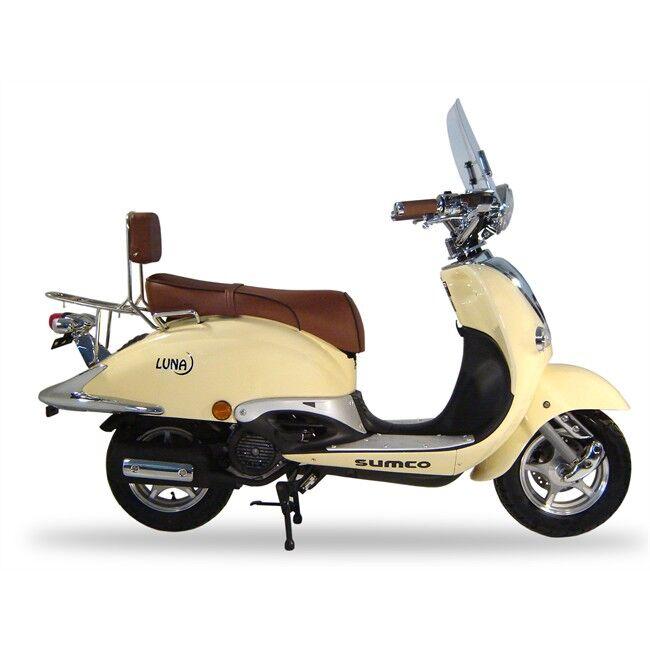 Scooter Sumco Luna 125 Cc Beige