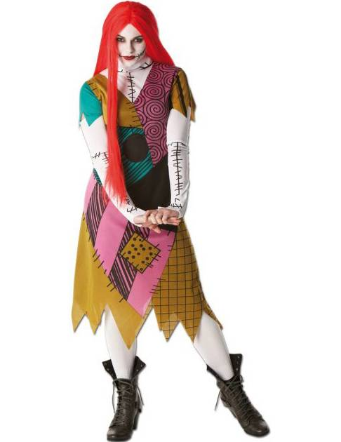 Vegaoo.es Disfraz de Sally de Pesadilla antes de Navidad Jack - M