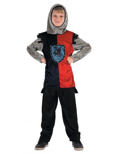 Disfraz de caballero dragón Niño S 4-6 años (110-120 cm)