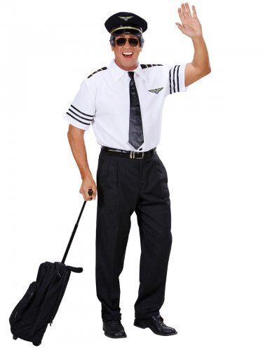 Disfraz comandante a bordo hombre S