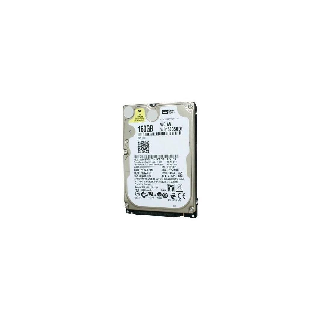 Western Digital Disco duro interno 2.5  160 GB SATA 1.5 Western Digital WD1600BUDT