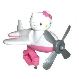 Bike Fashion Avión Hello Kitty Para Manillar Blanco/fucsia Con Motivos