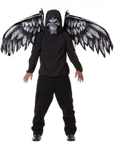 Máscara ángel de la muerte y alas M (40/42)