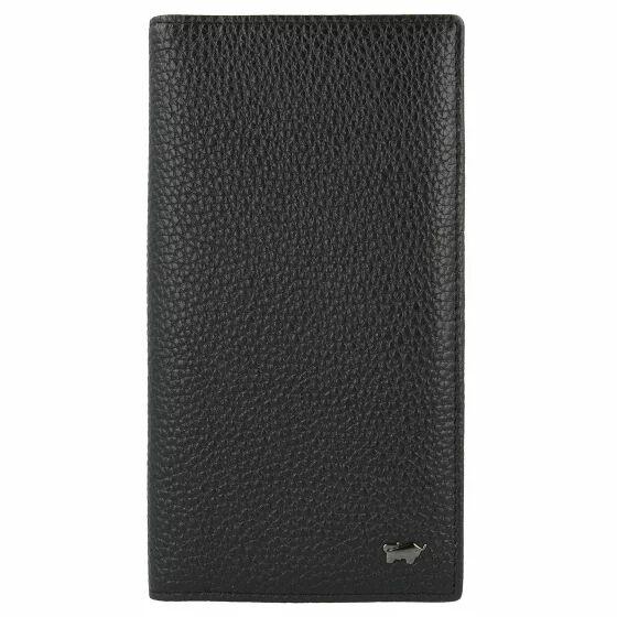 Braun Büffel Turin Porta tarjetas de credito piel 10 cm Black