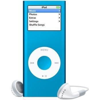 Apple Ipod Nano 2 4 GB Azul