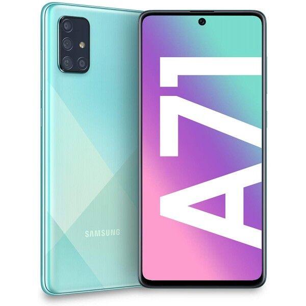 """Samsung Galaxy A71 SM-A715F 6+128GB 6.7"""" Prisma cruch Azul DS"""