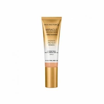 Max Factor Miracle Touch Second Skin 07, Neutral Medium, 30 ml