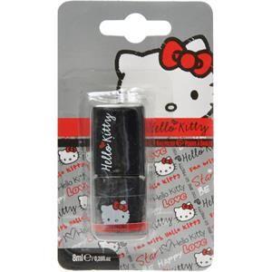 Hello Kitty Make-up Uñas Esmalte de uñas Negro 8 ml