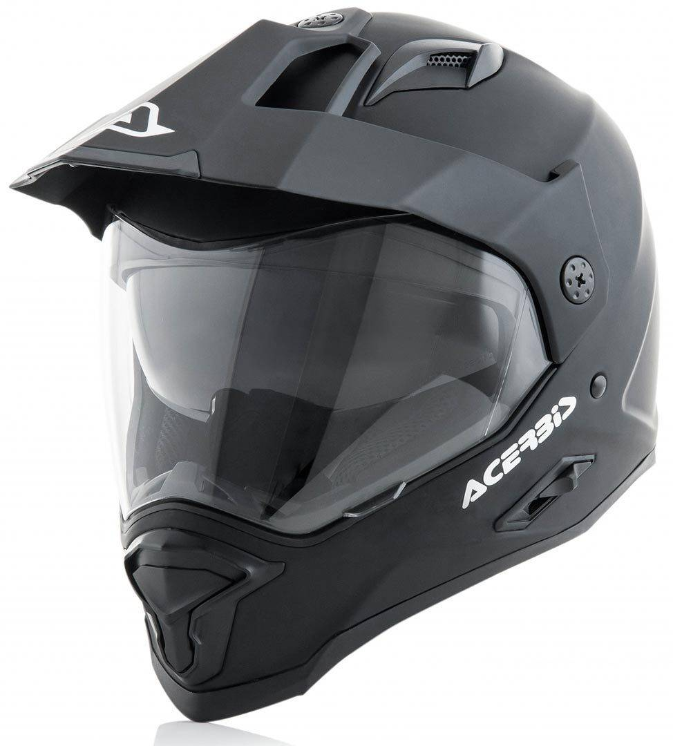 8052796453098 Acerbis Reactive Casco campo a través Negro Mate XL (61/62)