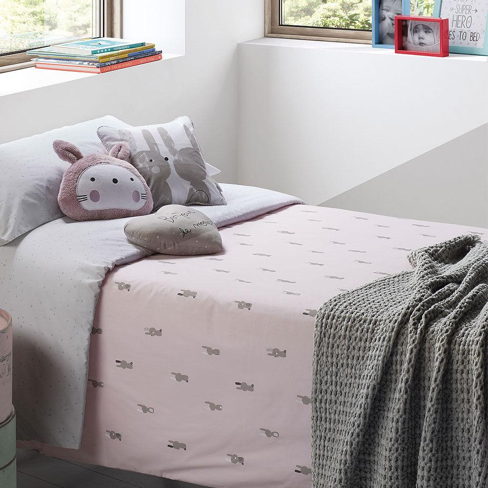 Funda nórdica para cama Snoops rosa