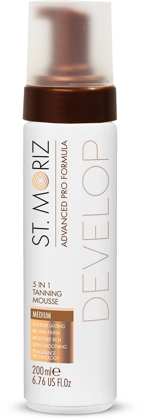 St. Moriz ADVANCED PRO FORMULA 5in1 tanning mousse  #medium 200 ml