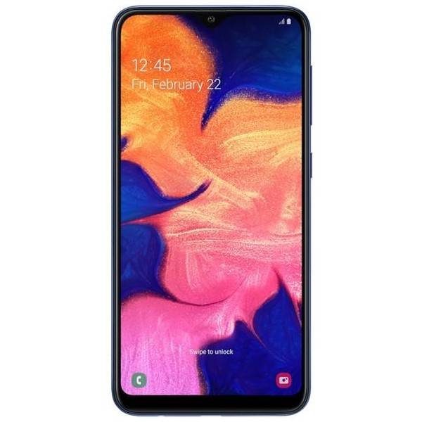 "Samsung Galaxy A10 SM-A105F 2+32GB 6.2"" Azul DS"