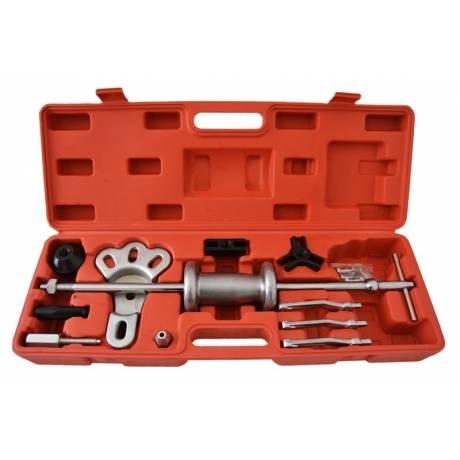 Kit profesional martillo deslizante, desabollador y extractor. 16 pz