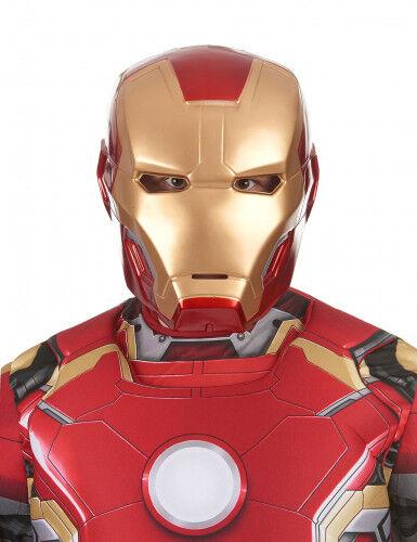 Máscara adulto 2 partes Iron Man película 2 Única