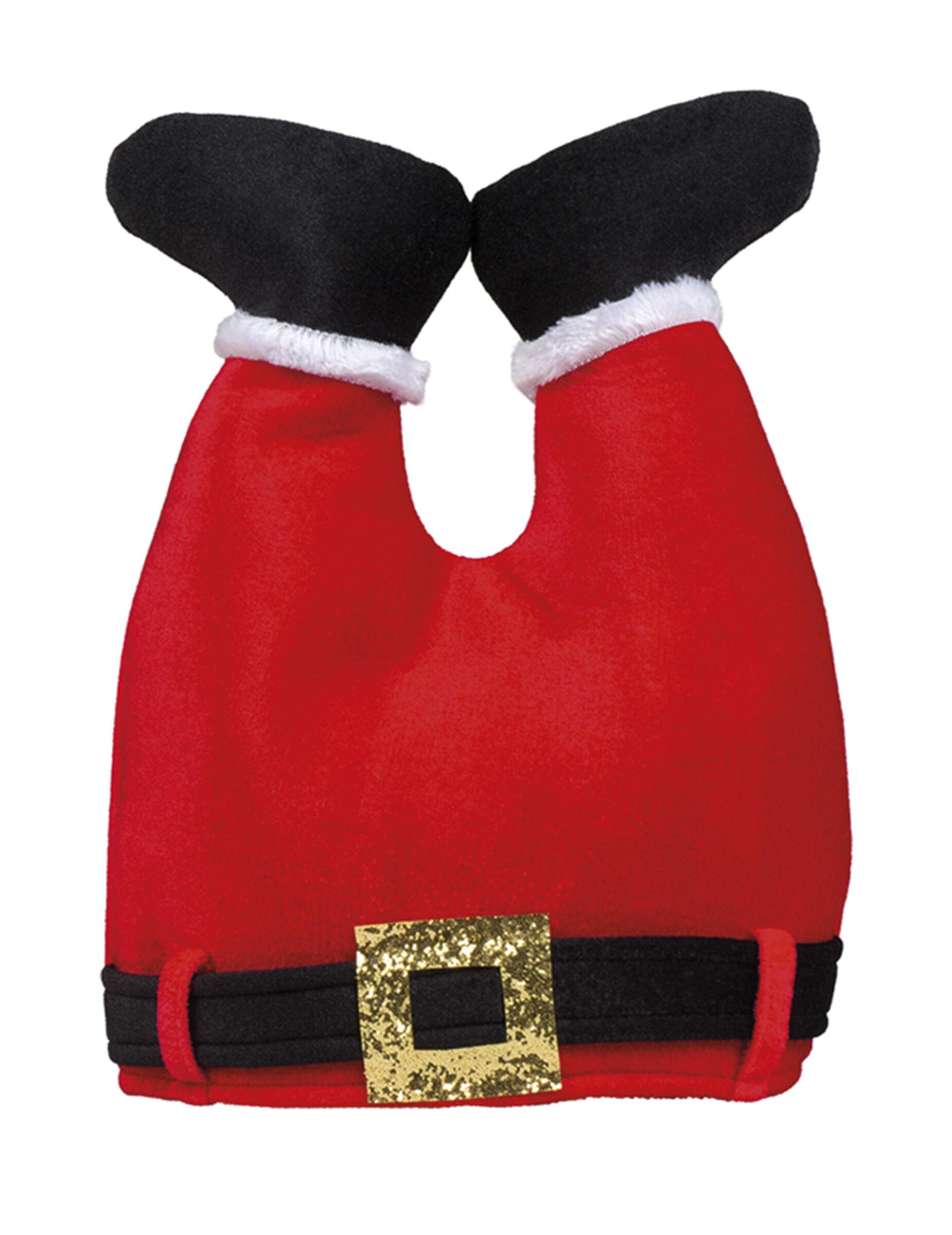 Vegaoo.es Gorro pantalón de Papá Noel adulto