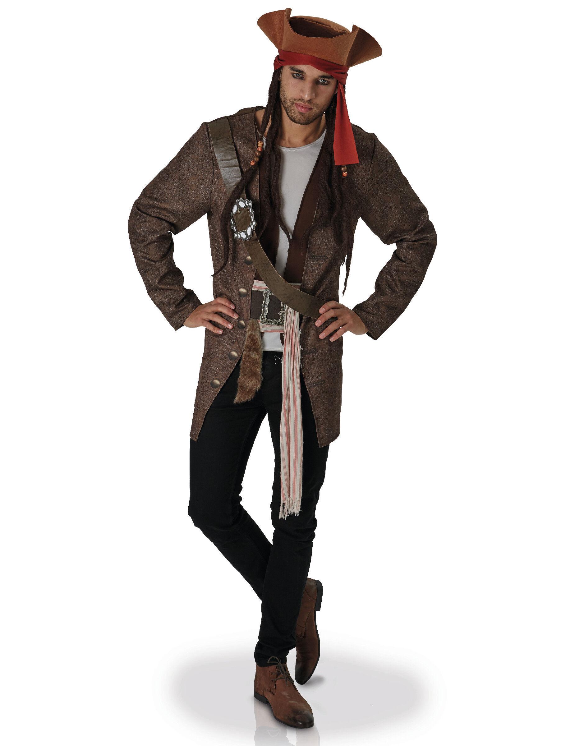 Vegaoo.es Disfraz Jack Sparrow Piratas del Caribe adulto - XL