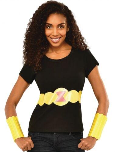 Camiseta y brazaletes Viuda Negra mujer L