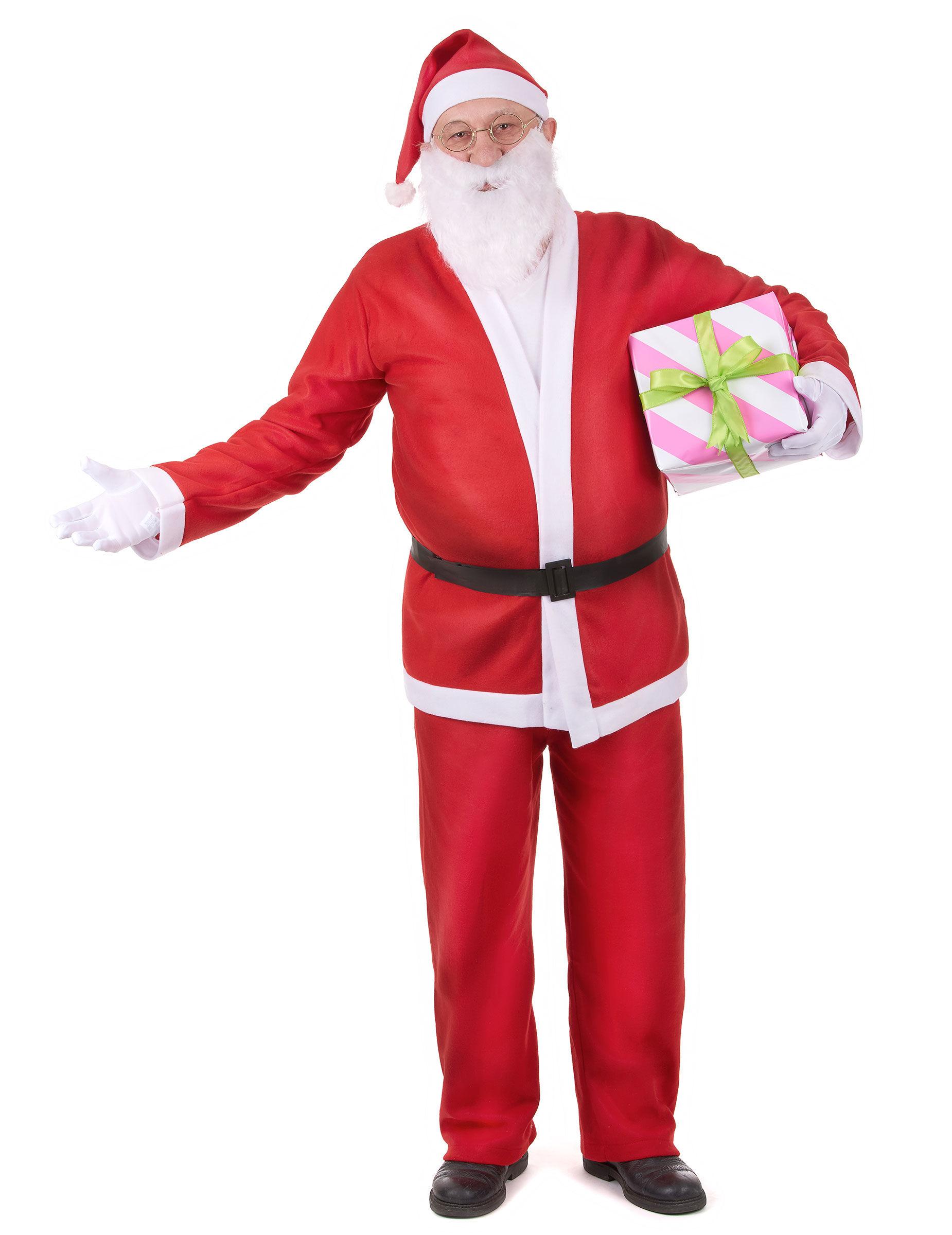Vegaoo.es Disfraz de Papá Noel para adulto clásico