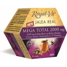 Dietisa Royal Vit Mega Total 2000 Mg 20 Viales