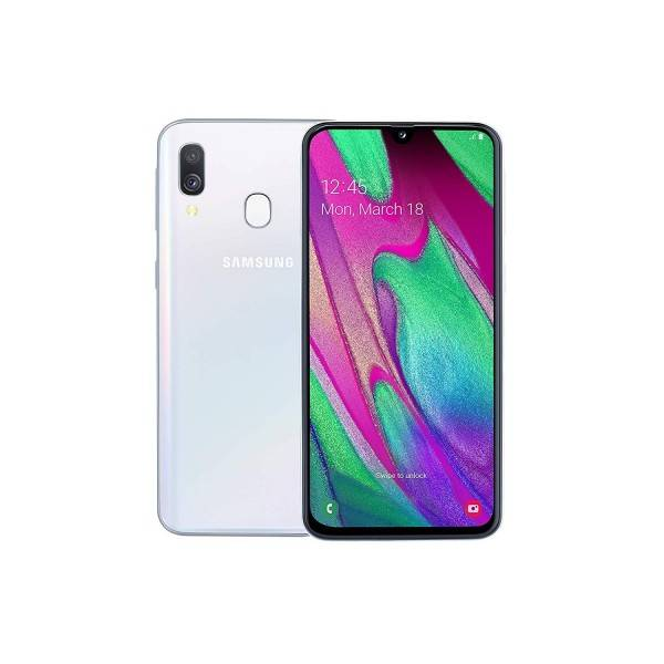"Samsung Galaxy A40 SM-A405F 4+64GB 5.9"" Blanco DS"