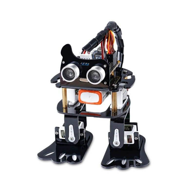 SUNFOUNDER SLOTH KIT ROBOT BIPEDO 4-DOF CON ARDUINO NANO STEM
