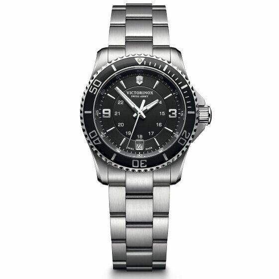 Victorinox Maverick Small Reloj de buceo acero inoxidable black-silver