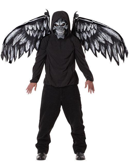 Vegaoo.es Máscara ángel de la muerte y alas - M (40/42)