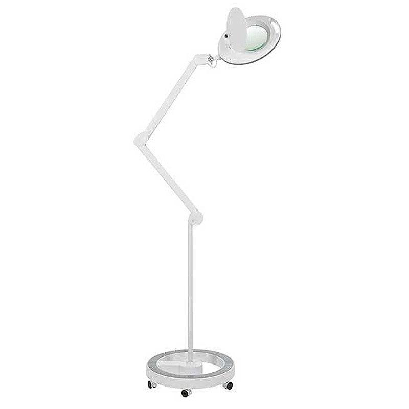 Lámpara Lupa LED de Luz Fría Mega con 5 Aumentos (base rodable)