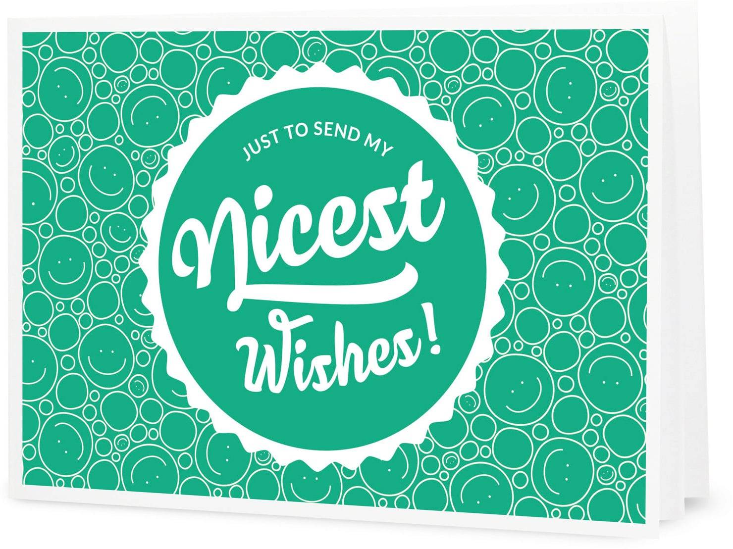 "VitalAbo Nicest Wishes! - Vale de Regalo para Imprimir - Vale ""Nice Wishes"""